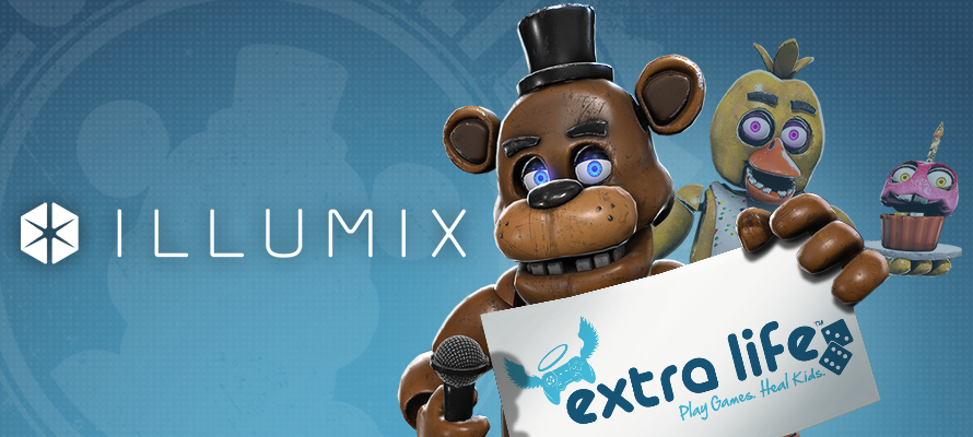 Illumix Celebrates Extra Life!